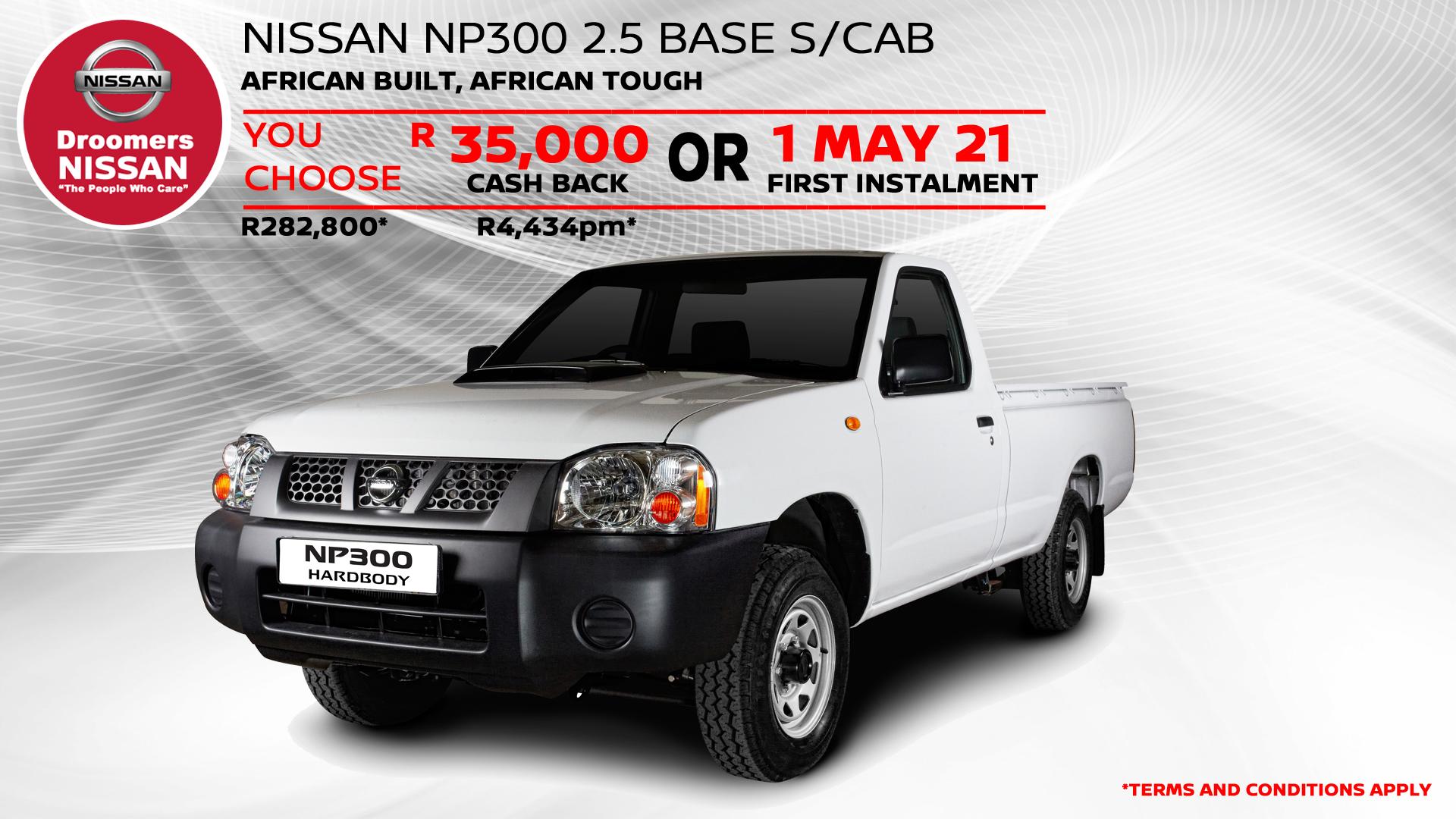 NISSAN NP300 2.5 BASE S/CAB